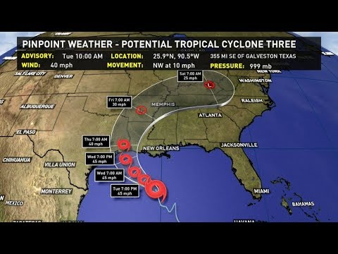 Tropical Weather Update: Tuesday, June 20, 10 AM