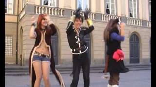 Repeat youtube video Caramelldansen in cosplay a Lucca!