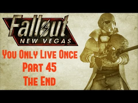 After almost a year, Fallout New Vegas: You Only Live Once has come to an end. Thanks for all the love /r/fallout