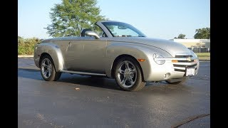 2004 Chevrolet SSR 13,402 Miles! Documented @ www.NationalMuscleCars.com National Muscle Cars