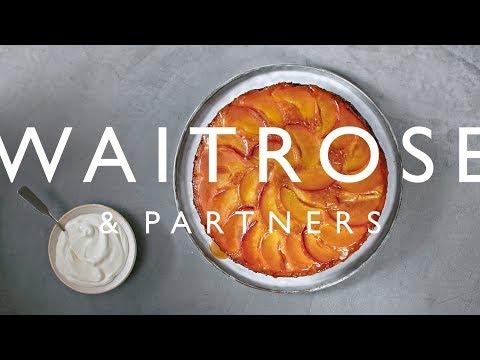 Peach Upside-down Cake | Waitrose & Partners