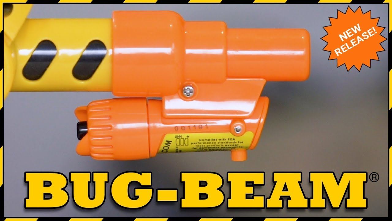 new bug beam laser from bug a salt youtube