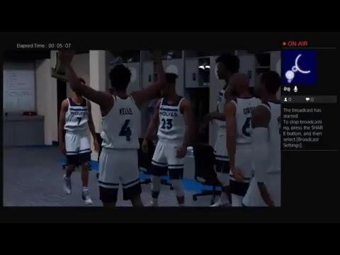 NBA 2K18 winning the finals Mvp