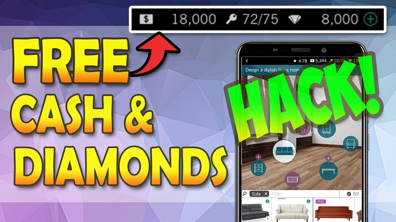 Design Home Cheats 2020.Design Home Hack And Cheats How To Get Free Diamonds And Cash Android Ios New