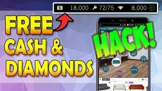 Design Home Hack And Cheats How To Get Free Diamonds And Cash Android Ios New Youtube