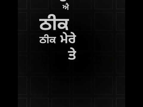 adaab-kharoud-temporary-pyar-kaka-lyrics-status-download⬇️punjabi-song-black-background-whatsapp-vid