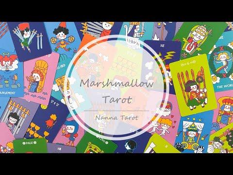 開箱  韓國棉花軟糖塔羅牌 • Marshmallow Tarot // Nanna Tarot