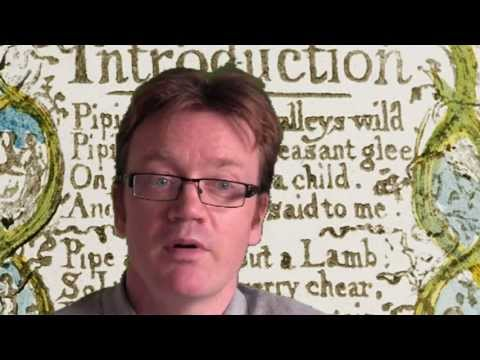William Blake's 'Introduction to the Songs of Innocence' -- explanation and analysis.