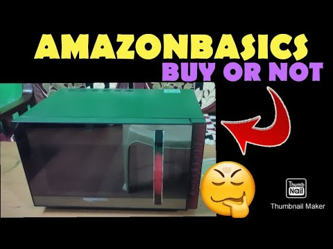 AMAZONBASICS CONVECTION MICROWAVE OVEN 23 LITRE (BUY OR NOT) GENIUNE INFORMATION!!!!! MUST WATCH!!!!
