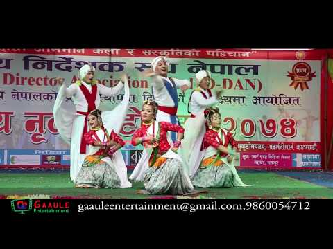 Best Chhaliya dance/National dance day 2017/Kathmandu
