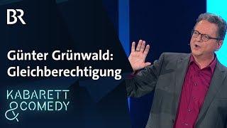 Günter Grünwald zur Gleichberechtigung zwischen Mann und Frau