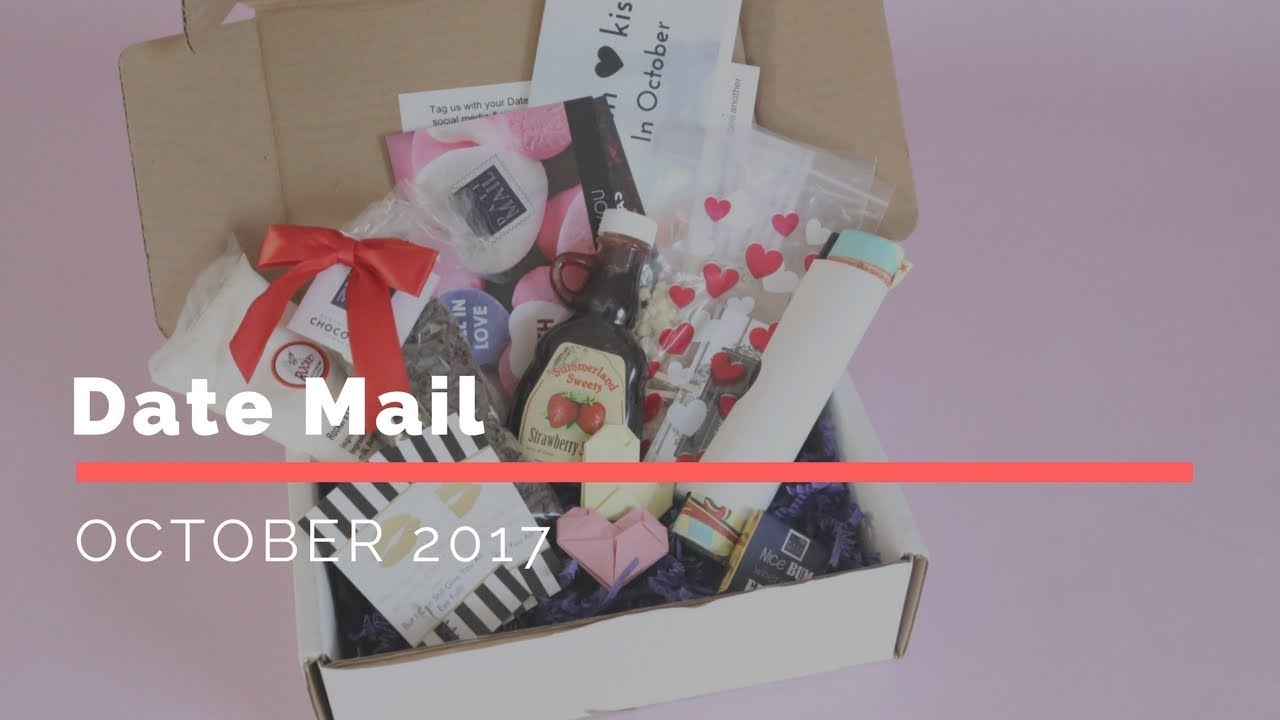 Dating subscription boxes