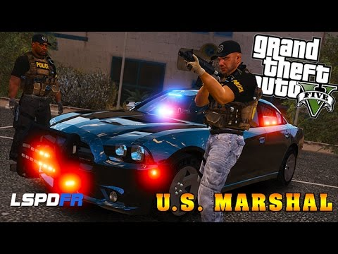 GTA 5 LSPDFR - US Marshal Felony Warrants - 10k Sub Special