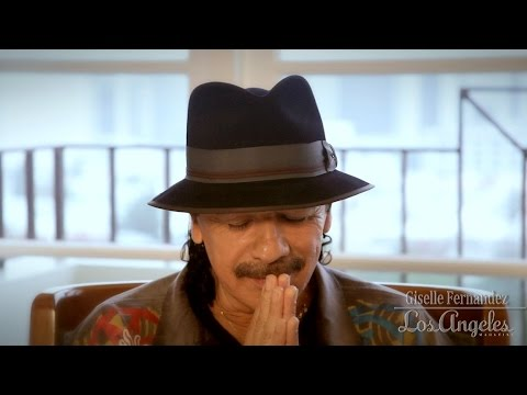 Carlos Santana is interviewed by Giselle Fernandez: Part 4 -
