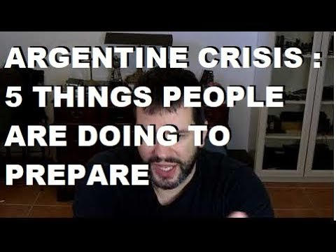 Argentine Crisis 2019: 5 Things People Are Doing To Prepare