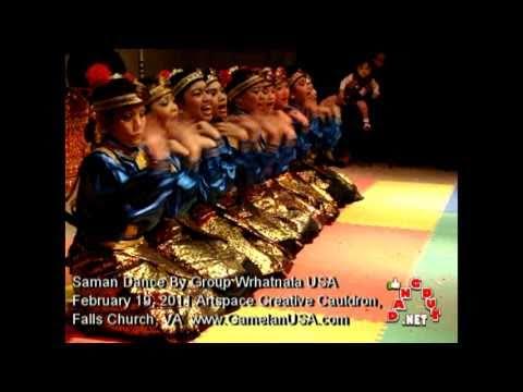 TARI SAMAN TARI ACEH INDONESIA di AMERIKA, TRADITIONAL INDONESIAN SAMAN DANCE IN USA-WASHINGTON DC