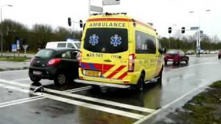 Aanrijding met gewonde, Goirle Turnhoutsebaan , 27-02-2011.