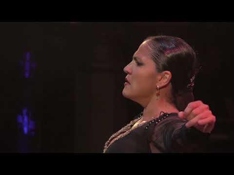 Soraya Clavijo baila taranto, semifinal del Cante de las Minas 2017