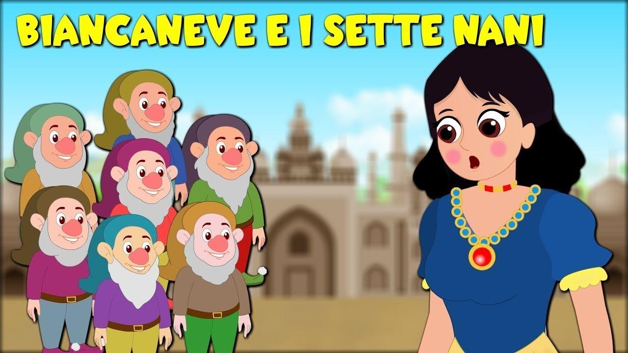 Biancaneve e i sette nani - 45 minuti - Favole Per Bambini -  Storie Per Bambini