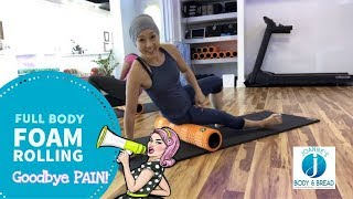 BEGINNER FULL BODY FOAM ROLLING I Complete Guide for Pain relief & Recovery