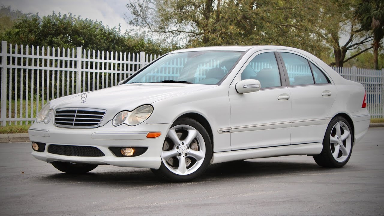 2005 mercedes benz c230 kompressor sport full review for Mercedes benz 2002 c230