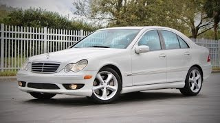2005 Mercedes-Benz C230 Kompressor Sport Full Review & Test Drive