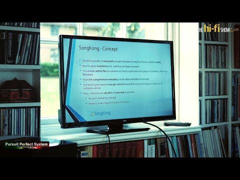 SongKong Music Tagger Correct MetaData Tool Full Presentation Melco Room @ the hi-fi Show Live 2018