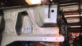 Front Fender Apron replacement Anna's 1965 Mustang Fastback - Day 37 - Part 2