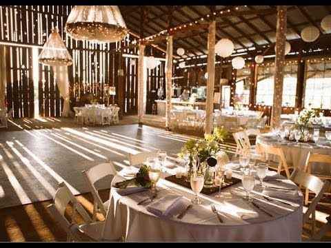 Barn wedding decoration ideas youtube barn wedding decoration ideas junglespirit Images