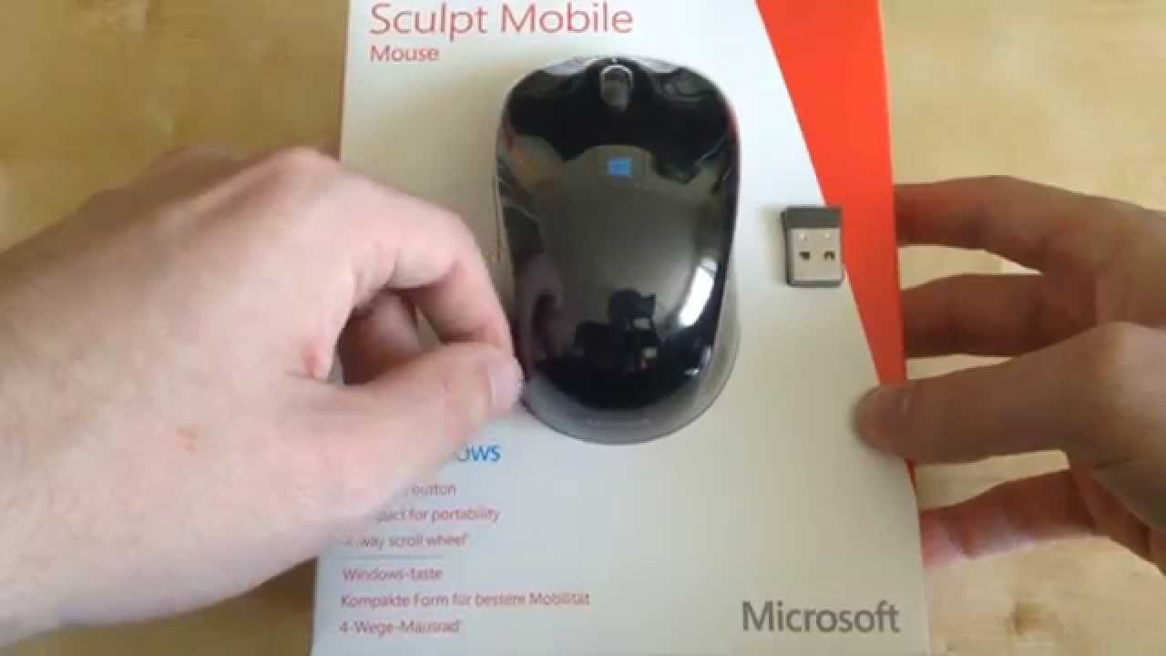 Unboxing Microsoft Sculpt Mobile Mouse Uk Plus Test Youtube 3600 Bluetooth Red