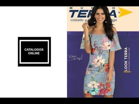 48285bcc Nuevo catalogo ropa de moda Mundo Terra 2018 Primavera Verano - YouTube