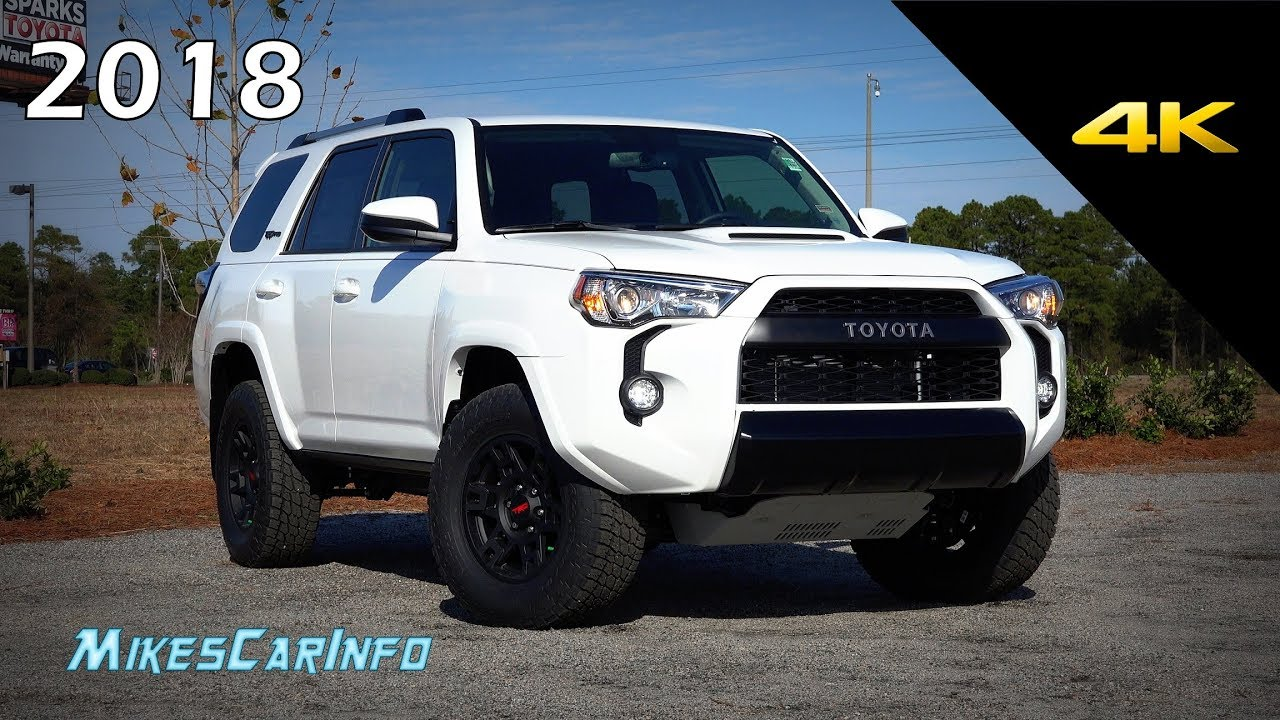 Toyota Forerunner 2018 >> 2018 Toyota 4Runner TRD Pro- Ultimate In-Depth Look in 4K - YouTube