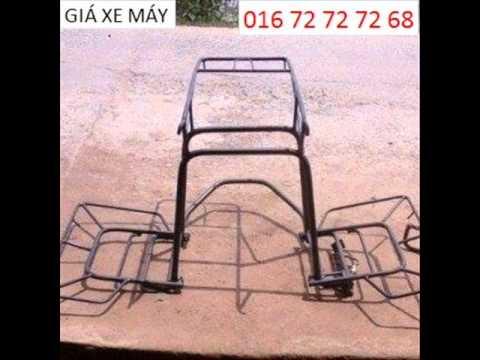 Giá Chở Hàng Xe Máy 0372727268 Hà Nội.wmv
