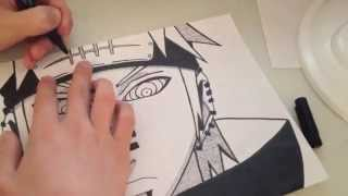 Pain Speed-Drawing