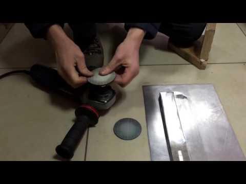 3M™Trizact™ 953FA Hookit™ - Диск шлифовальный для нержавейки, тест, АКС-ЮГ СИСТЕМА