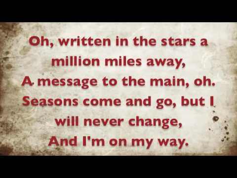 Tinie Tempah ft. Eric Turner Written in the Stars (lyrics)