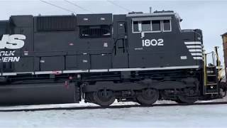 NS 740 Loaded Coal Train with DPUs