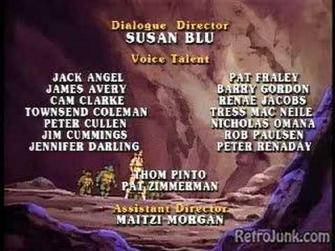 Teenage Mutant Ninja Turtles Ending Sequence Outro