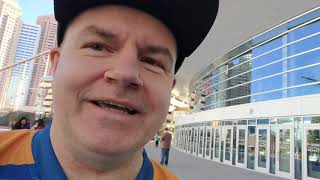 Reporting From In Front of T-Mobile Arena
