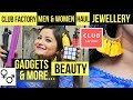 Club Factory Men + Women Haul   Jewelry, Gadgets, Beauty & Lifestyle   Online Shopping India