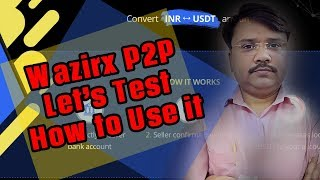 wazirx p2p Launched || Complete Process How to deposite and withdraw INR during RBI Bans (Hindi)