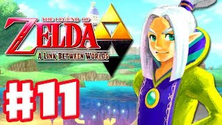 The Legend of Zelda: A Link Between Worlds - Gameplay Walkthrough Part 11 - Thieves