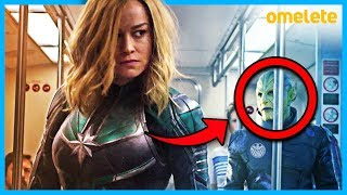 10 EASTER EGGS DE CAPITÃ MARVEL