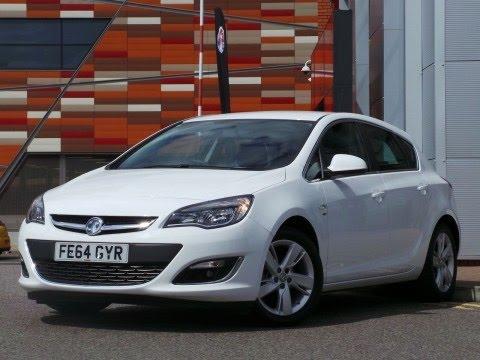 2014 64 Plate Vauxhall Astra 16 16V SRi 5dr In White