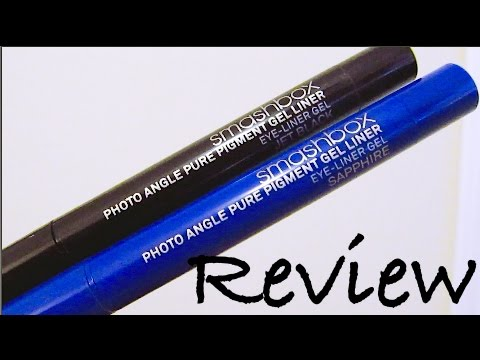 Review Smashbox Photo Angle Pure Pigment Gel Liner Youtube
