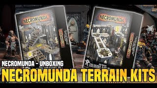 Bols Unboxing | Necromunda Terrain Kits | Games Workshop