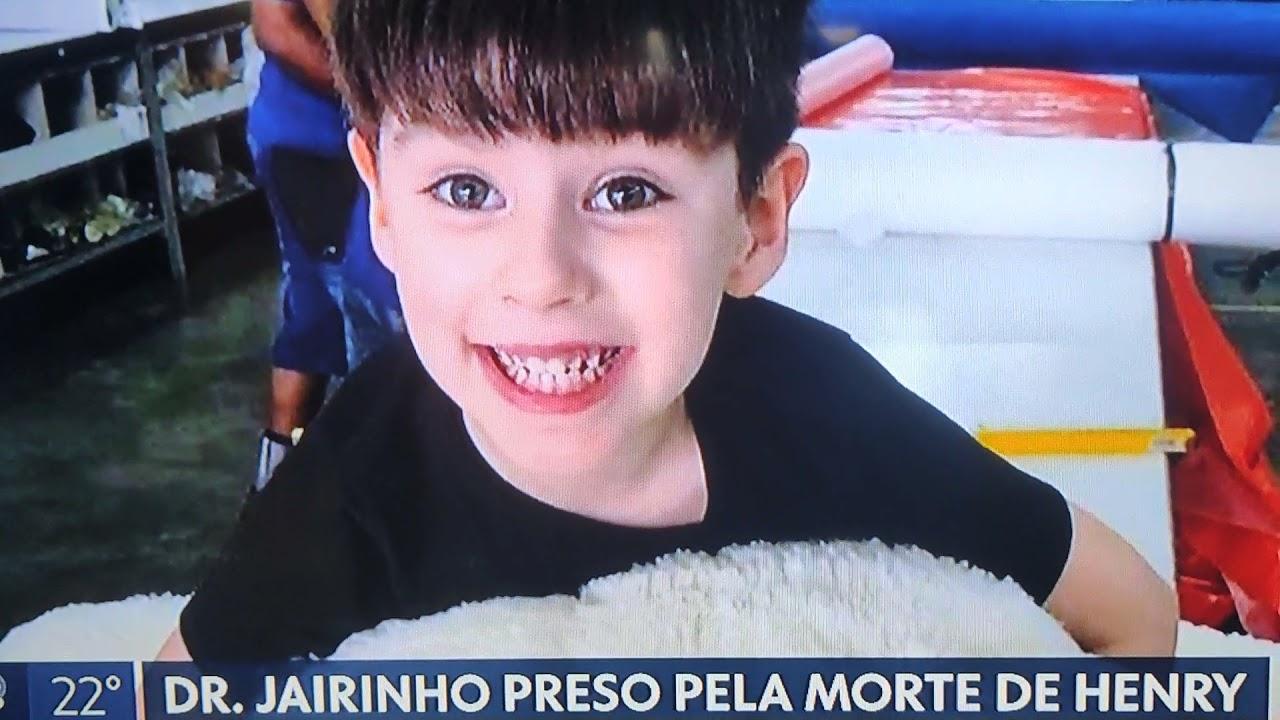 AGORA) Doutor jairinho preso no rio de janeiro Por morte do menino Henry -  YouTube