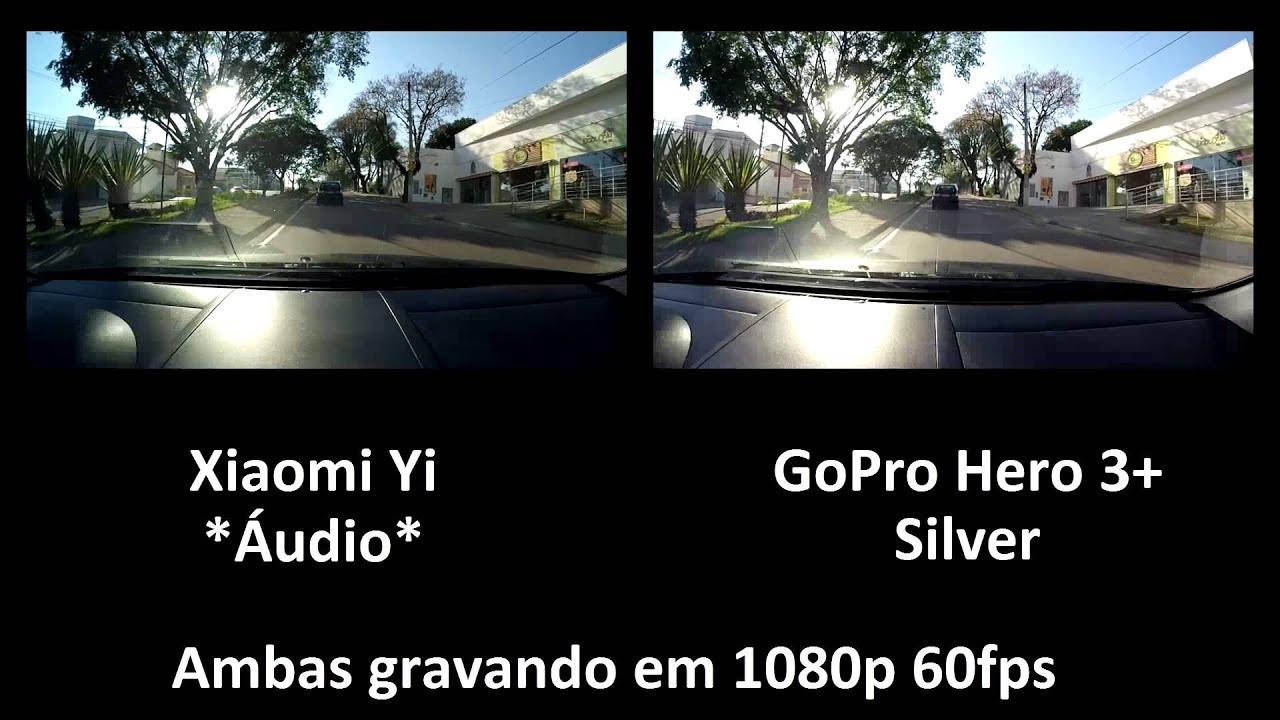 xiaomi yi vs gopro hero 3 silver youtube. Black Bedroom Furniture Sets. Home Design Ideas