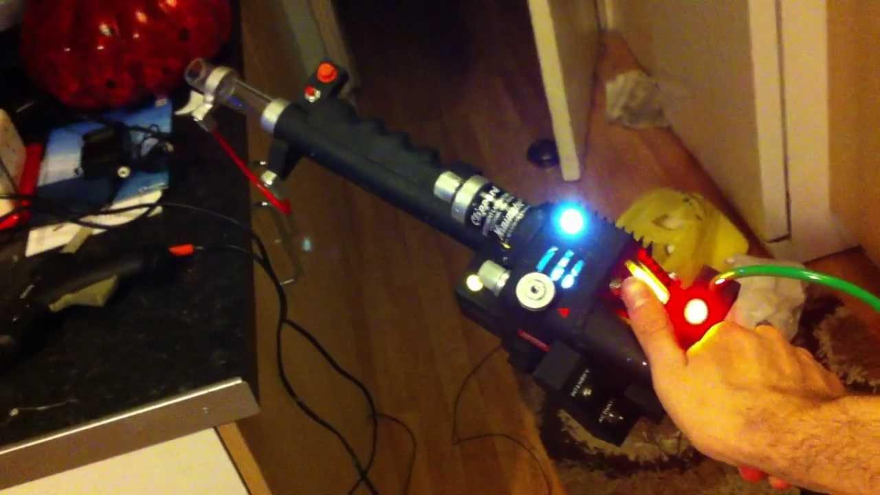Neutrona Wand Light And Sound Test Ghostbusters Proton