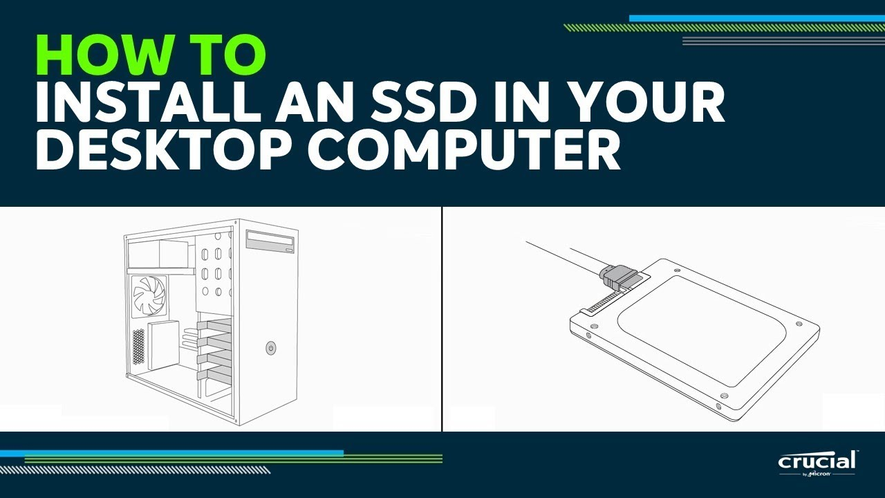 How to Install an SSD in a Desktop